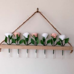 Rustic  Flower  Wall Hanging 4