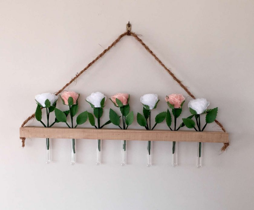 Rustic  Flower  Wall Hanging 2