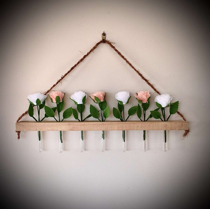 Rustic  Flower  Wall Hanging 1