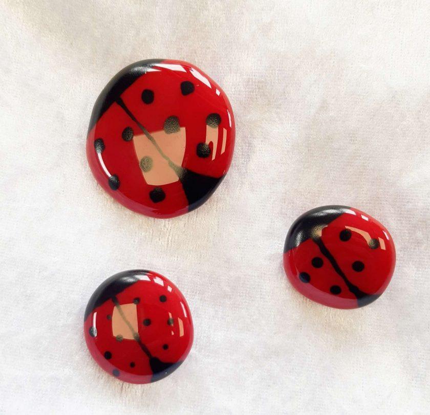 Ladybird Brooch - Small 1