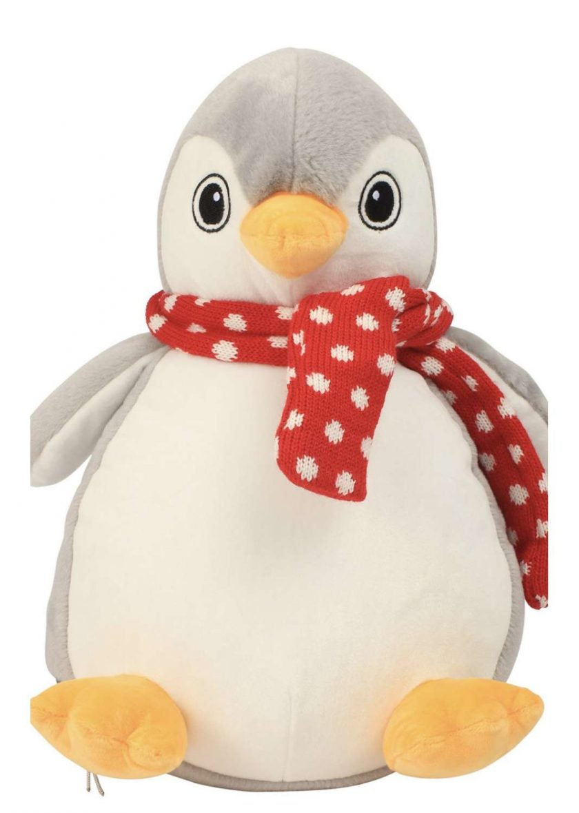 Mumbles Zippie Christmas Soft Toy / PJ Bag 7
