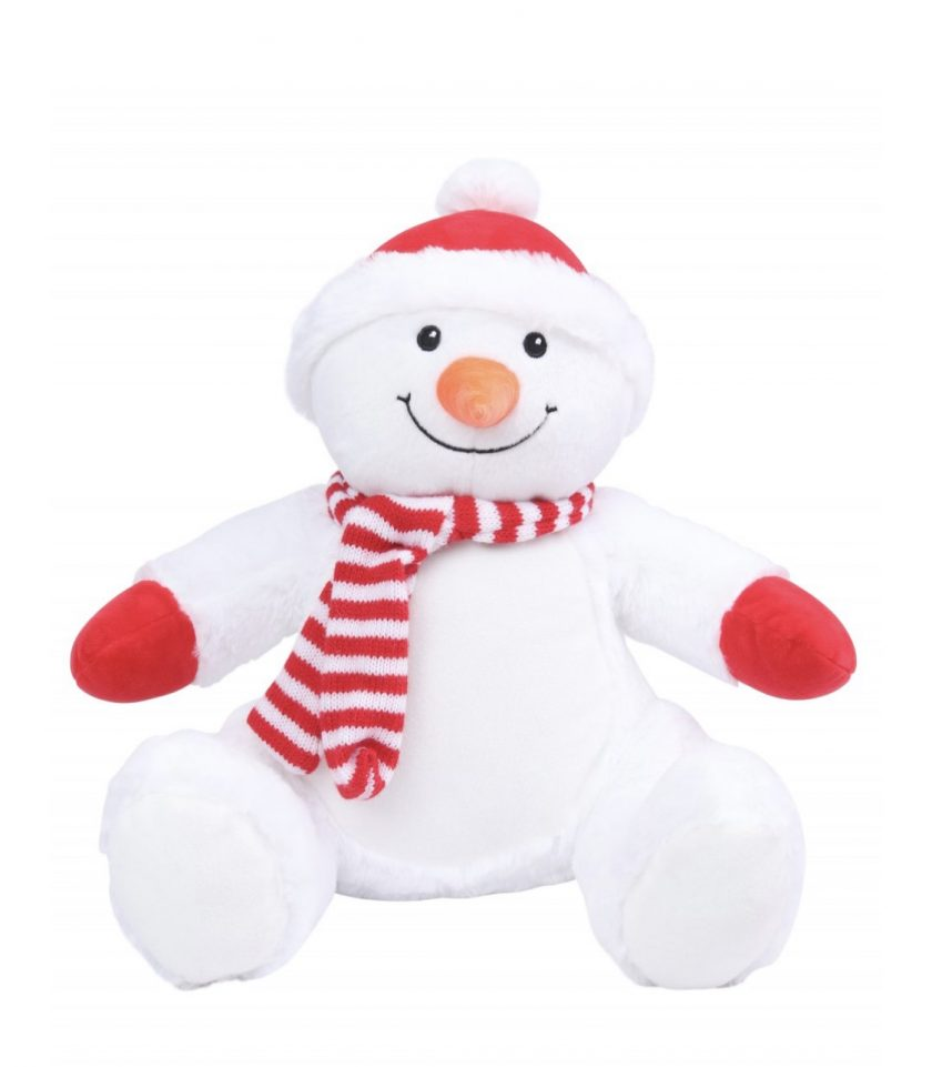 Mumbles Zippie Christmas Soft Toy / PJ Bag 8