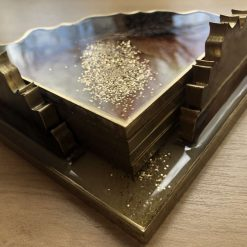 Resin tray 4 coasters and coasters holder 6