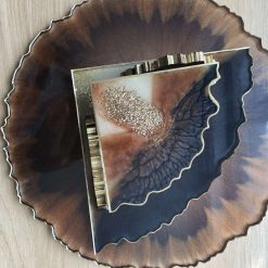 Resin tray 4 coasters and coasters holder 5