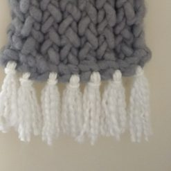 Knitted wall hanging 5