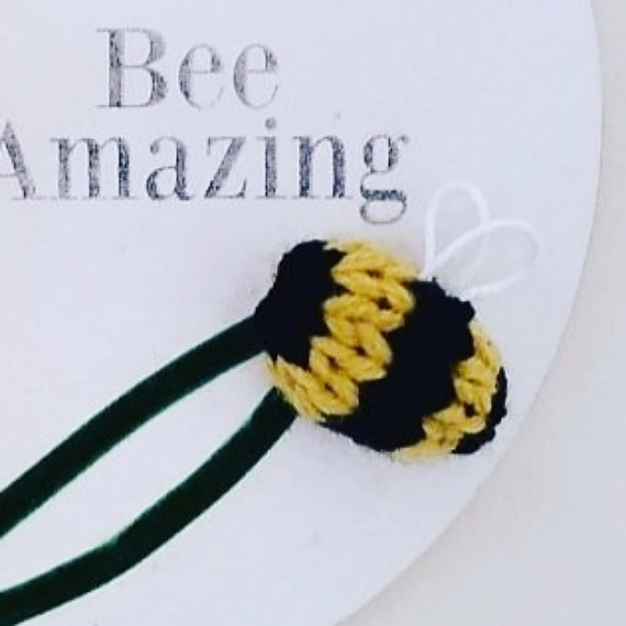 Sunflower and bee wall hanging 3