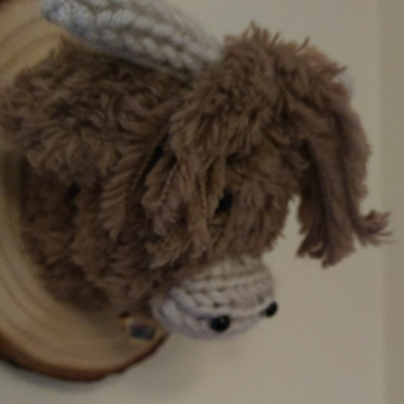 Highland cow head wall hanging 3