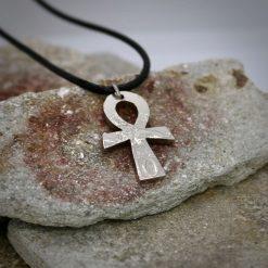 Ankh pendant, vintage coin mystic necklace. 10