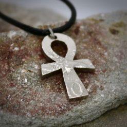 Ankh pendant, vintage coin mystic necklace. 9