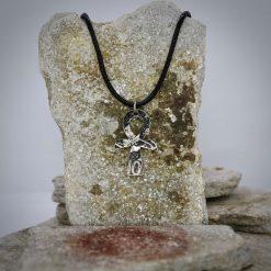 Ankh pendant, vintage coin mystic necklace. 8
