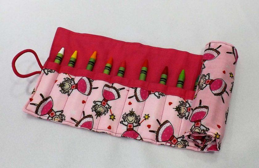 Princess Crayon Roll 1