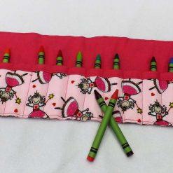 Princess Crayon Roll 6