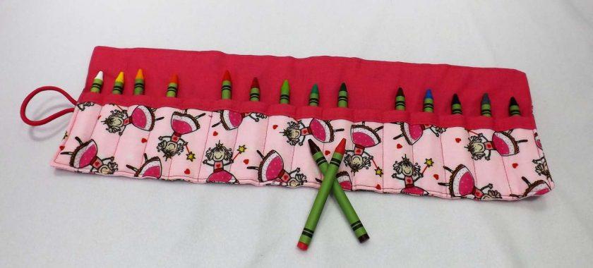 Princess Crayon Roll 2