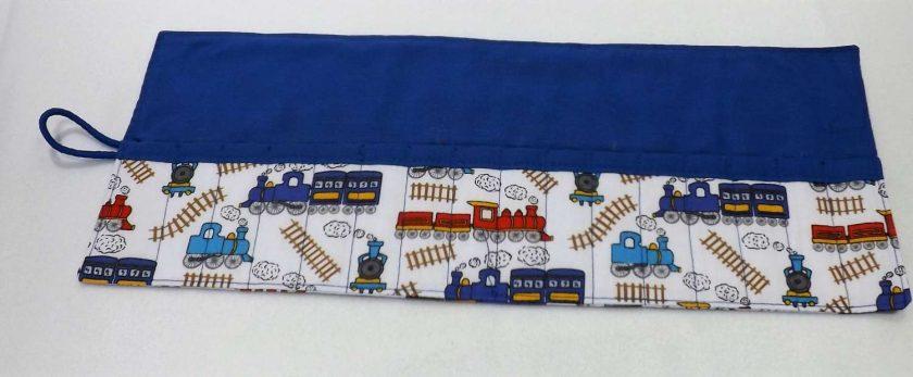 Train Crayon Roll 2