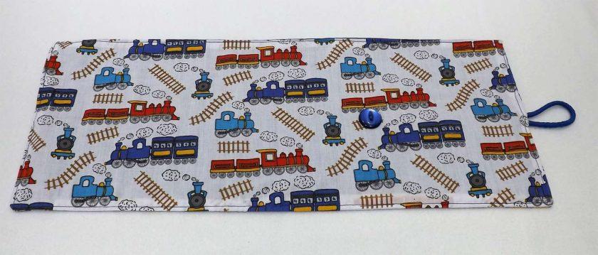 Train Crayon Roll 3