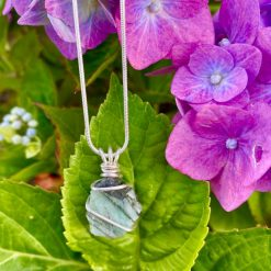 Raw Emerald Necklace 3