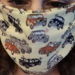 Handmade bespoke Face masks. Adult size.