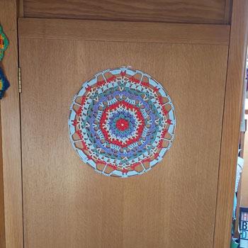 MaryJane - Mandala crochet pattern 4