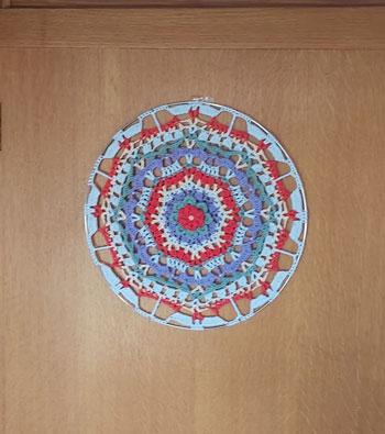 MaryJane - Mandala crochet pattern 3