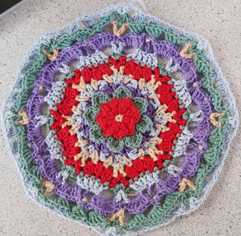 MaryJane - Mandala crochet pattern 7