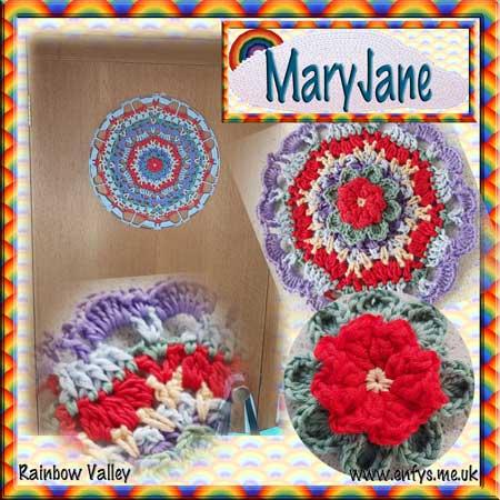 MaryJane - Mandala crochet pattern 1