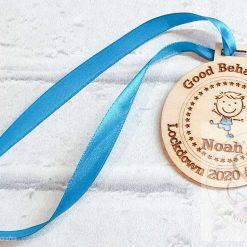 Lockdown 2020 good behaviour medals 13