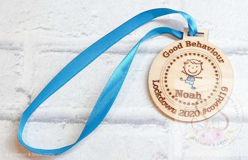 Lockdown 2020 good behaviour medals 2