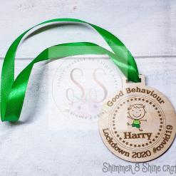 Lockdown 2020 good behaviour medals 14