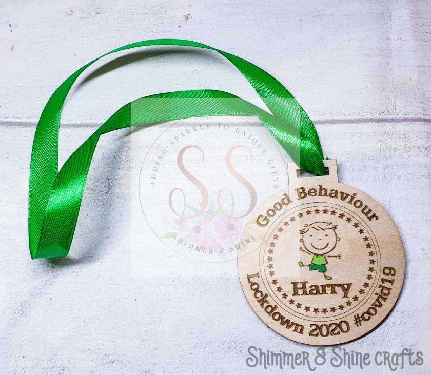 Lockdown 2020 good behaviour medals 3
