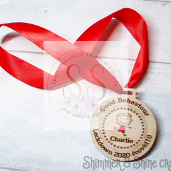 Lockdown 2020 good behaviour medals 15