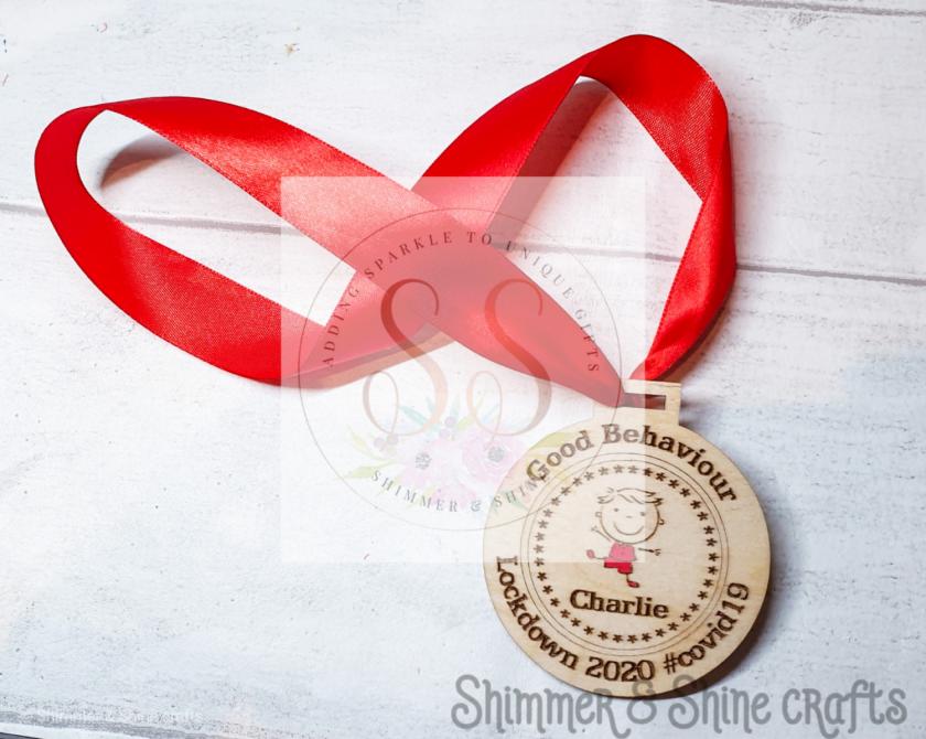 Lockdown 2020 good behaviour medals 4