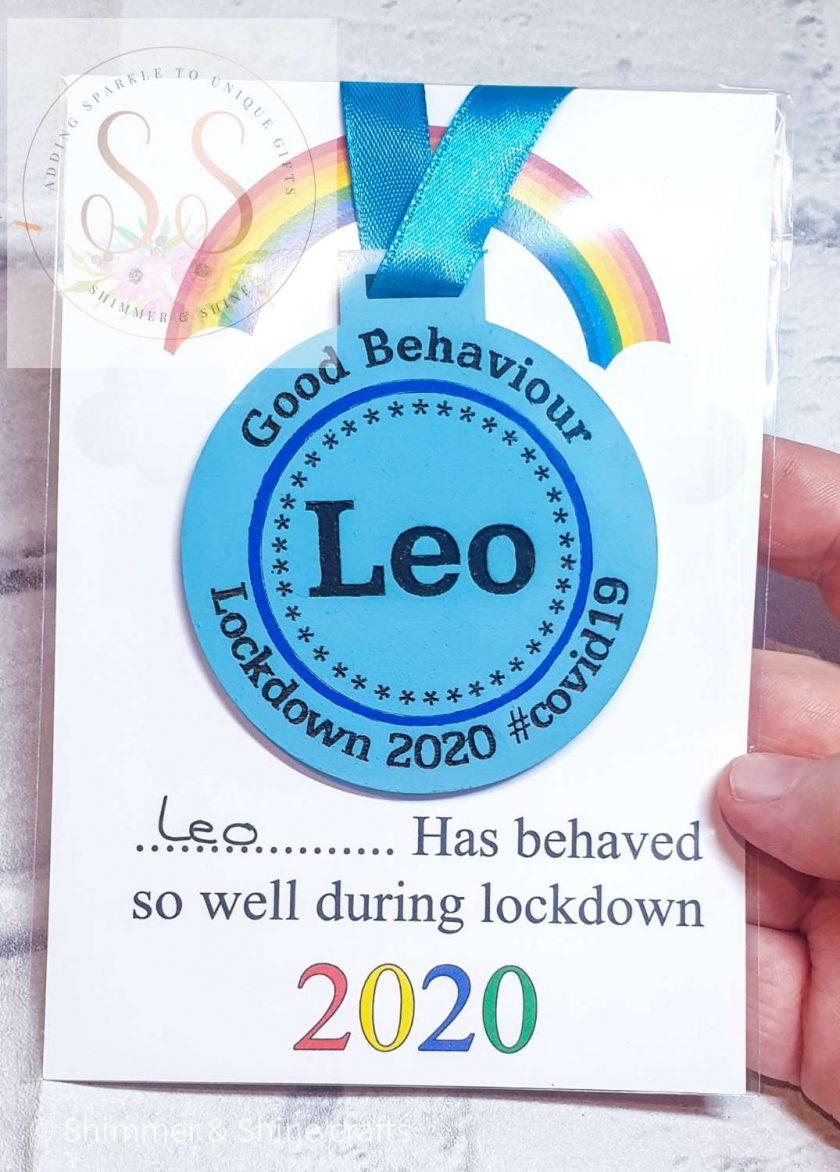 Lockdown 2020 good behaviour medals 1