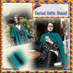 Cariad Celtic Shawl - crochet pattern