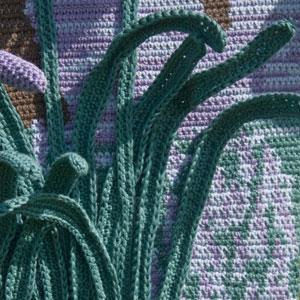 Four Seasons Wall Hangings - crochet patterns - art crochet 5