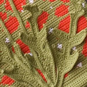 Four Seasons Wall Hangings - crochet patterns - art crochet 9
