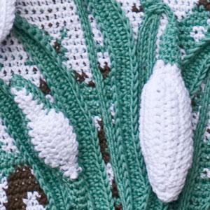 Four Seasons Wall Hangings - crochet patterns - art crochet 12