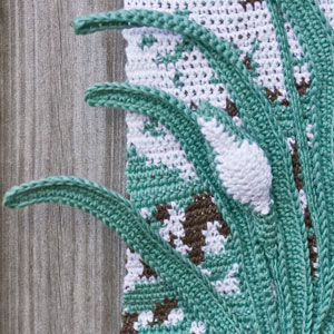 Four Seasons Wall Hangings - crochet patterns - art crochet 13