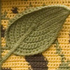 Four Seasons Wall Hangings - crochet patterns - art crochet 34