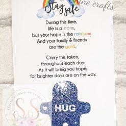 Glitter pocket hug keyrings or magnets 15
