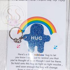 Glitter pocket hug keyrings or magnets 17