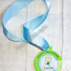 Birthday in lockdown medals 4