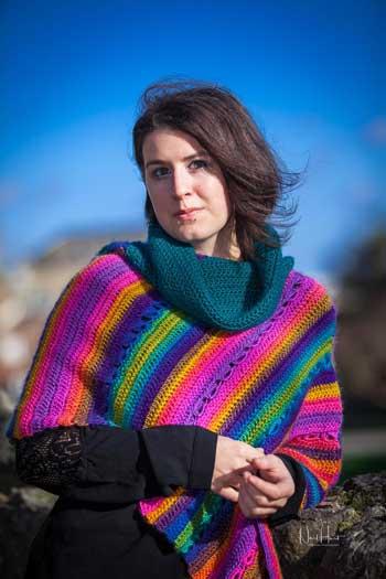 Festival Poncho - crochet pattern 4