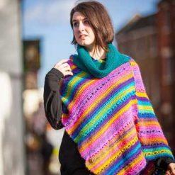 Festival Poncho - crochet pattern 10
