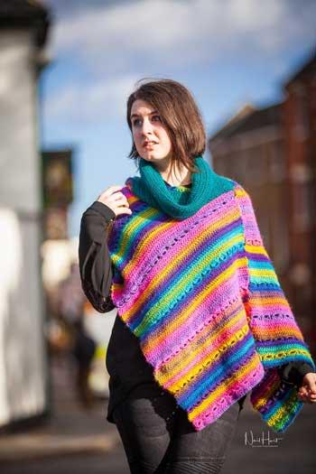 Festival Poncho - crochet pattern 3