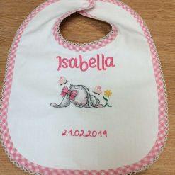 Personalised Baby Bibs handmade