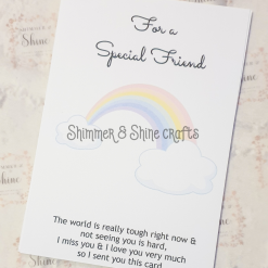 Rainbow quote keyrings & magnets 16