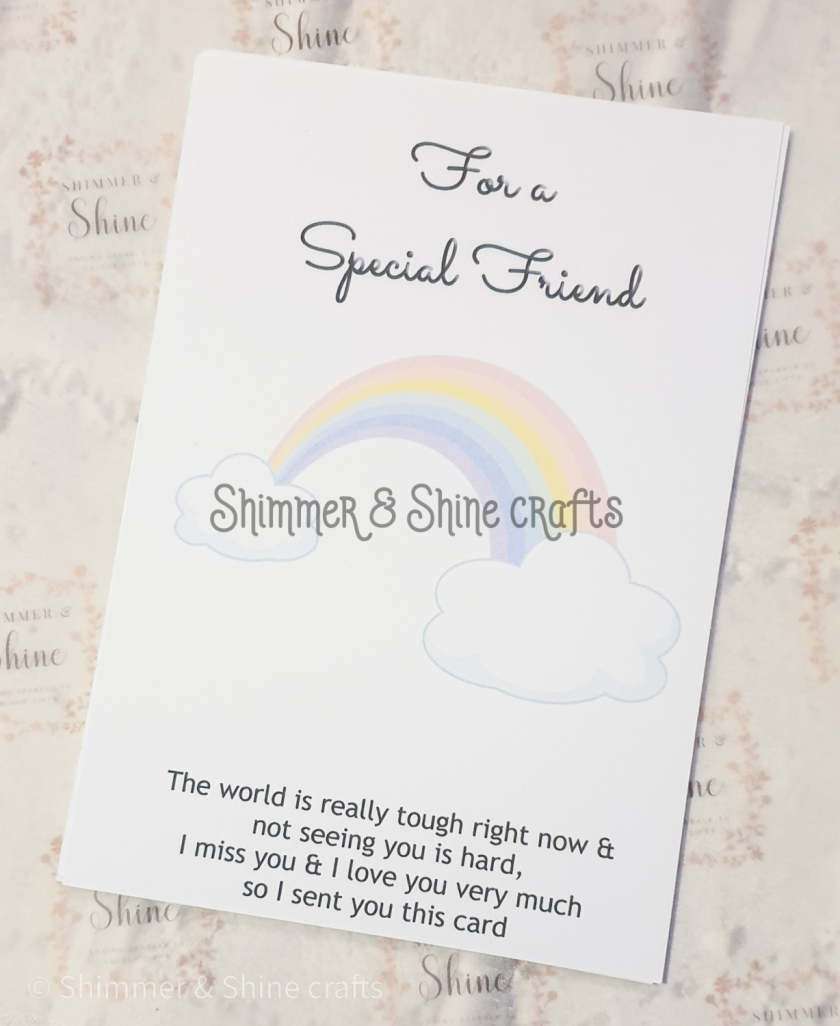 Rainbow quote keyrings & magnets 7