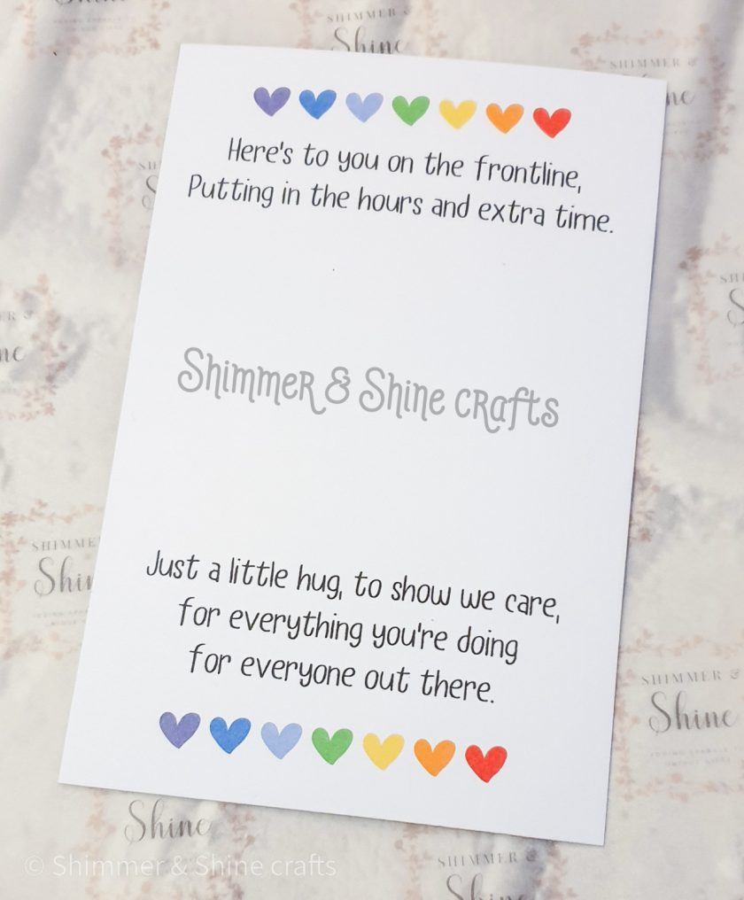 Rainbow quote keyrings & magnets 9
