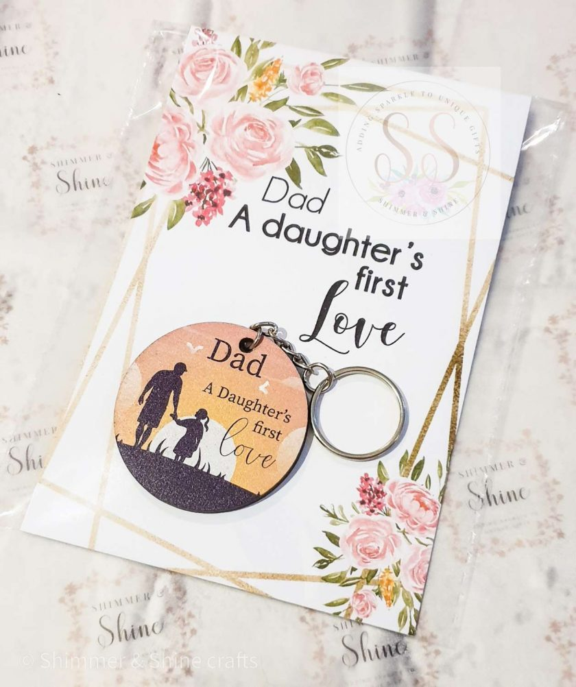 Dad quote keyring/magnet 1