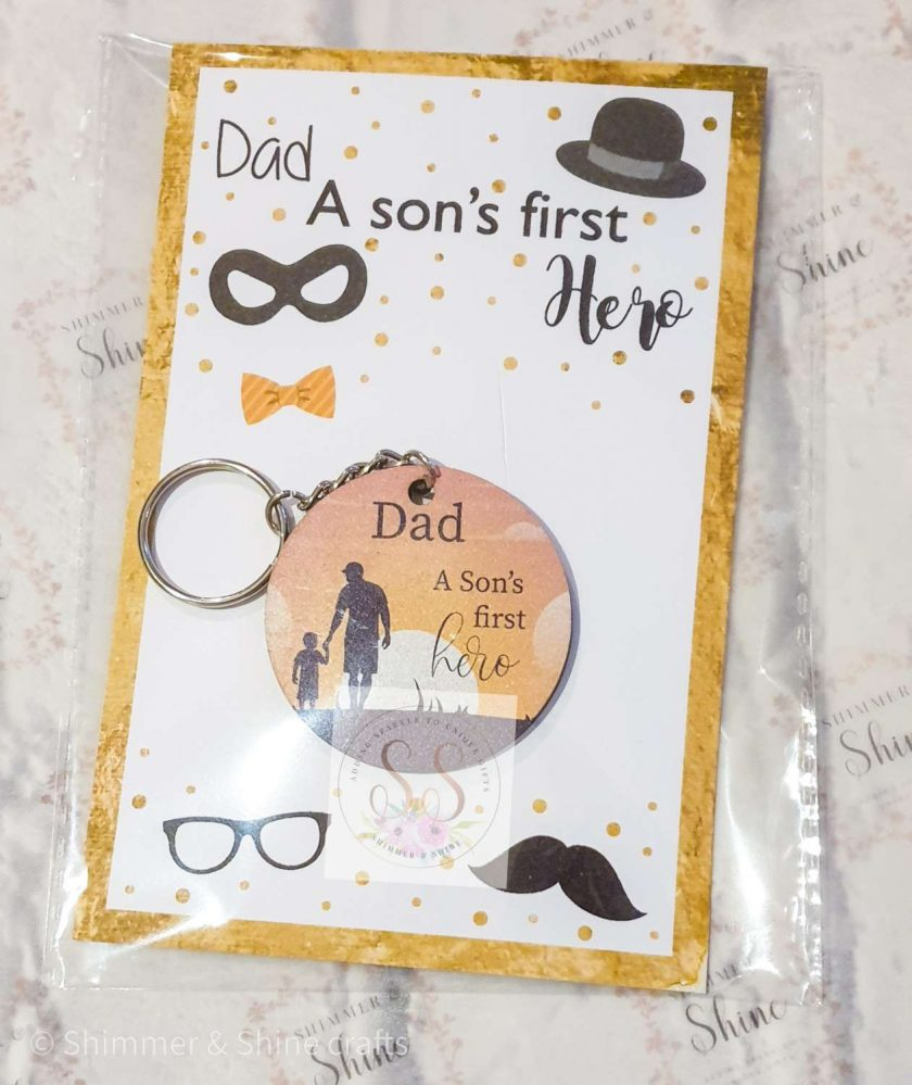 Dad quote keyring/magnet 2